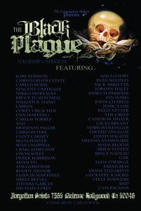 """The Black Plague"" exhibit at The Congregation Gallery"
