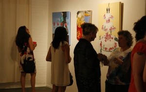 Installation view of Amy Guidry's work at The Alamo, Lafayette, LA