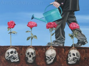 """Everything's Coming Up Roses"" by Amy Guidry; (c) Amy Guidry 2010"
