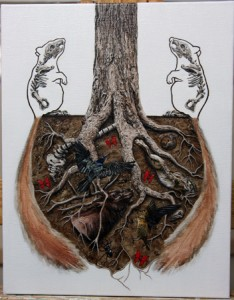 """Symbiotic""; (c) Amy Guidry 2010"