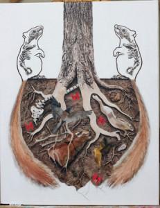 """Symbiotic"" (c) Amy Guidry 2010"