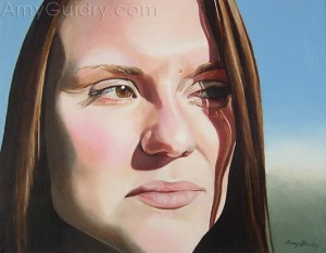 """Kerry"" by Amy Guidry, 2005, acrylic on canvas"