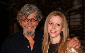 Artist Amy Guidry with Andy Antippas, Director, Barrister's Gallery
