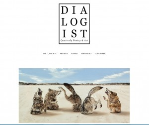 """The Pack"" by Amy Guidry featured in Dialogist Volume I, Issue IV"