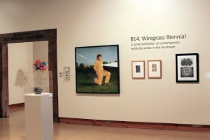 Installation view of the B14 Wiregrass Biennial; photo courtesy Wiregrass Museum of Art; Wiregrass Museum of Art, Dothan, AL