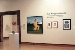 Installation view of the B14 Wiregrass Biennial; photo courtesy Wiregrass Museum of Art; Wiregrass Museum of Art, Dothan, AL