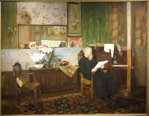 """My Studio"" by Eleanor Norcross; 1891; Oil on canvas"