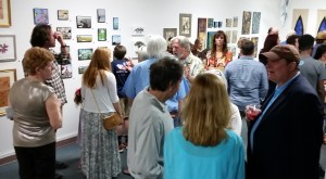 Opening night at Gallery 549, Lafayette, LA