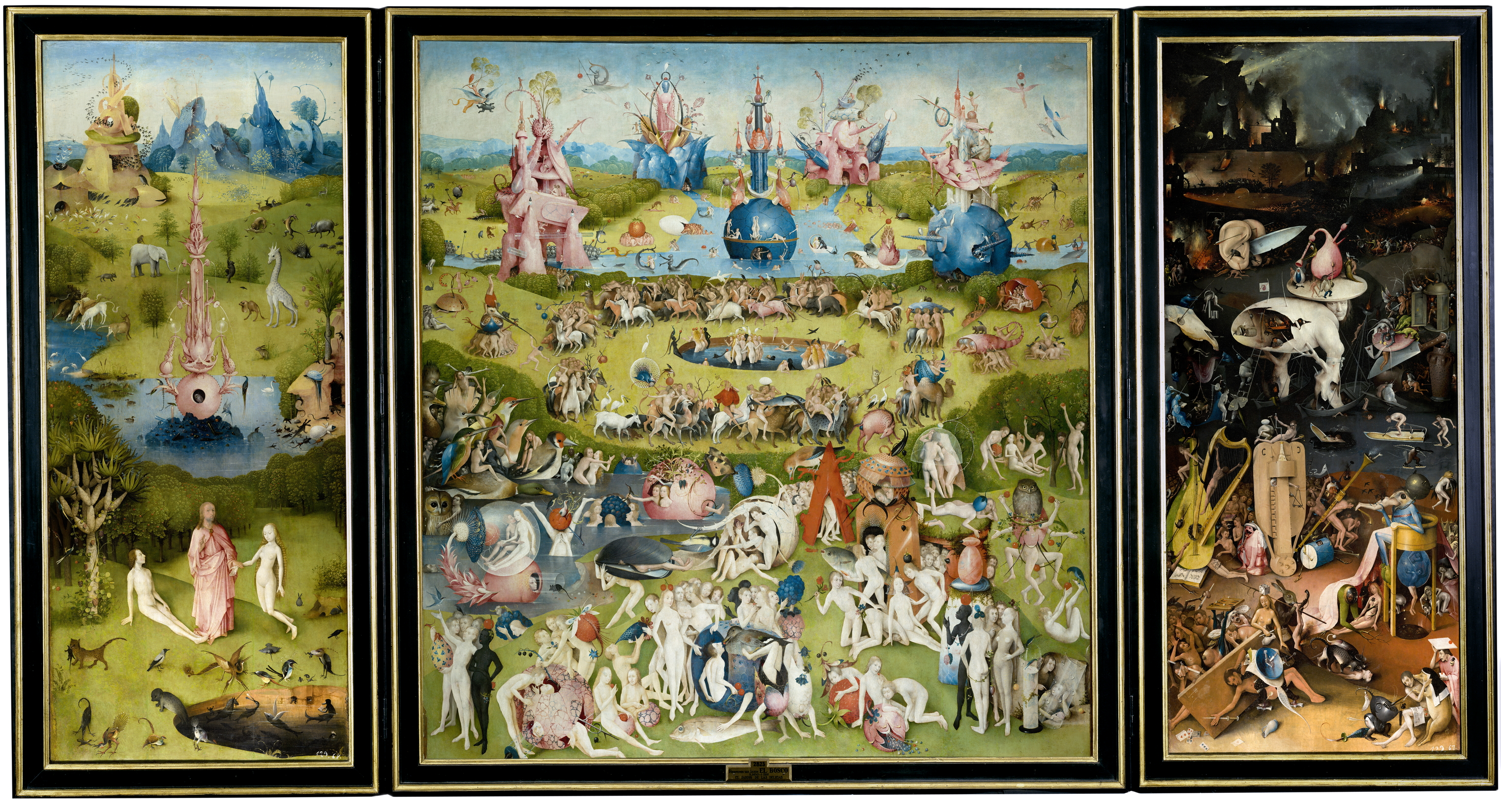 """The Garden of Earthly Delights"" by Hieronymus Bosch"