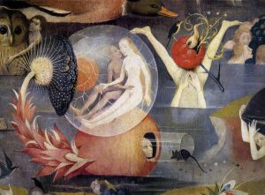 "Detail from ""The Garden of Earthly Delights"" by Hieronymus Bosch"