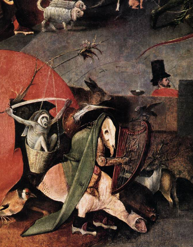 "Detail from ""The Temptation of St. Anthony"" by Hieronymus Bosch"